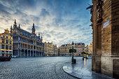 istock Grand Place Square in Brussels, Belgium 1175382761