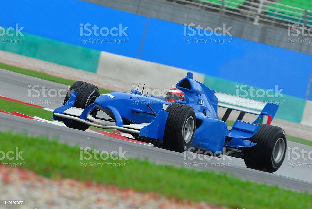 A1 Grand Prix in Sepang Malaysia royalty-free stock photo