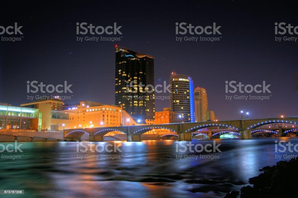 Grand Rapids, MI stock photo
