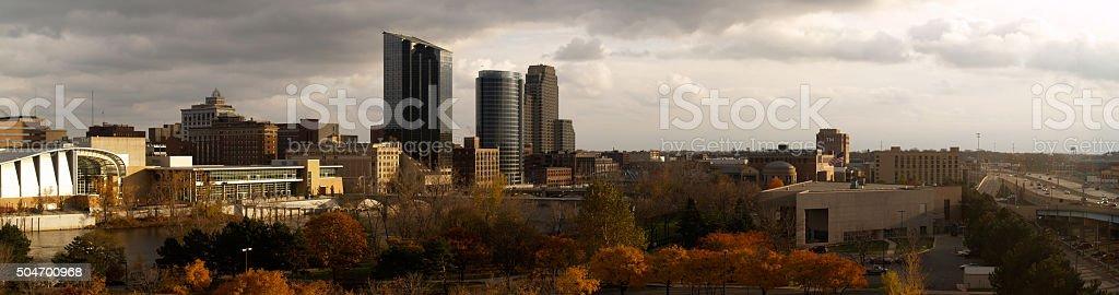 Grand Rapids, Michigan - Fall stock photo