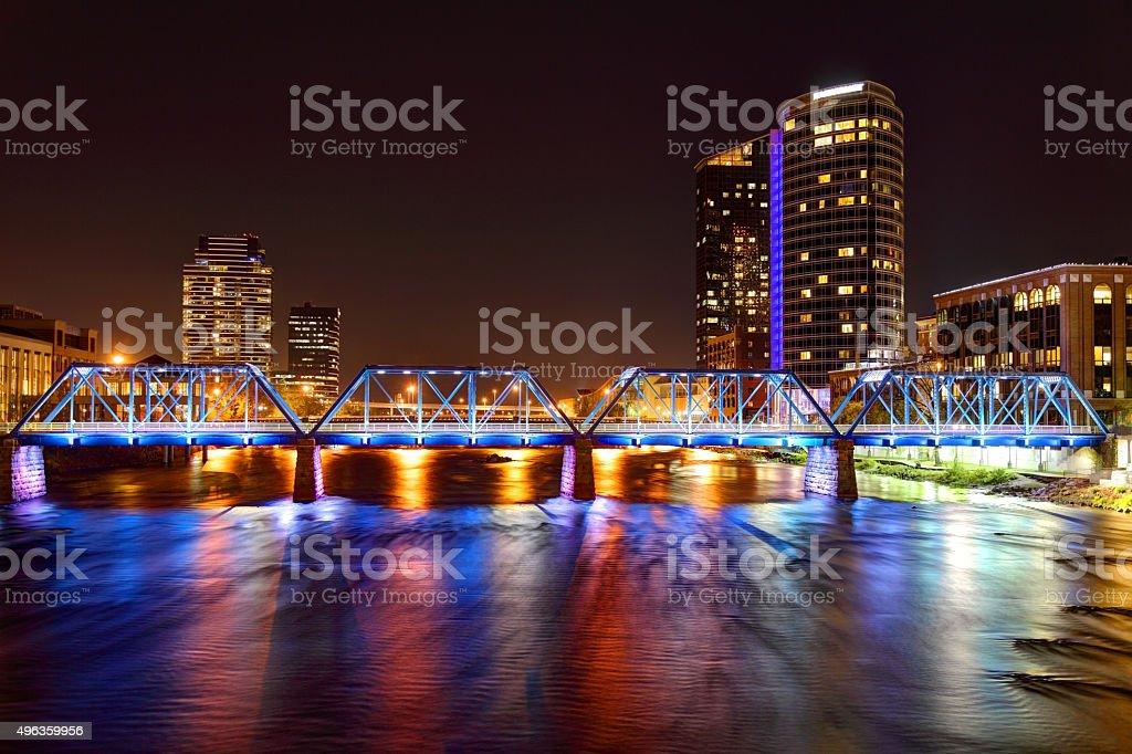 Grand Rapids, Michigan stock photo