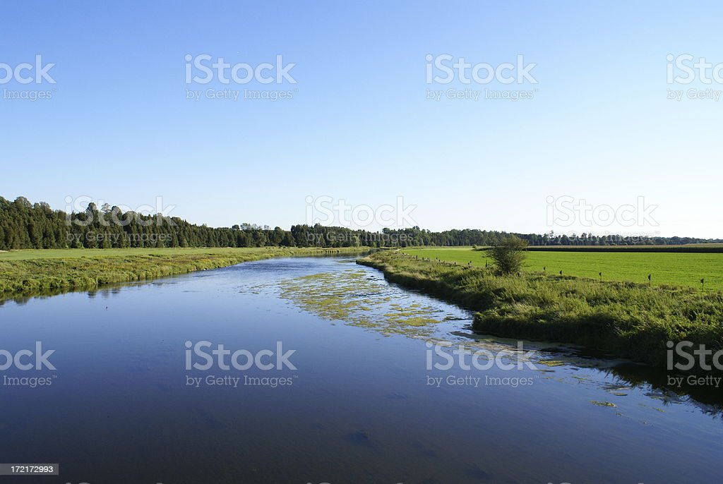 Grand River royalty-free stock photo