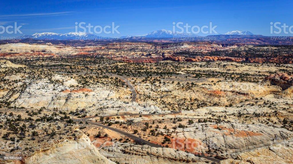 Grand Staircase-Escalante National Monument stock photo