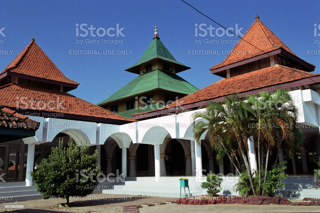 Grand Sumenep Mosque om Sumenep, Indonesia stock photo