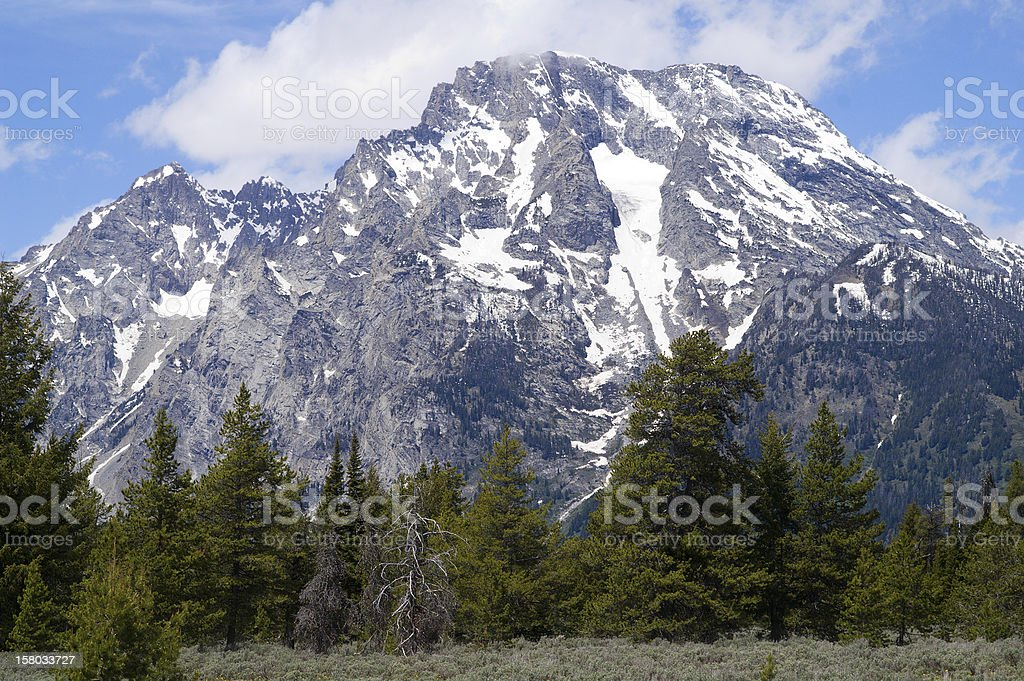 Grand Teton National Park, Wyoming, USA royalty-free stock photo