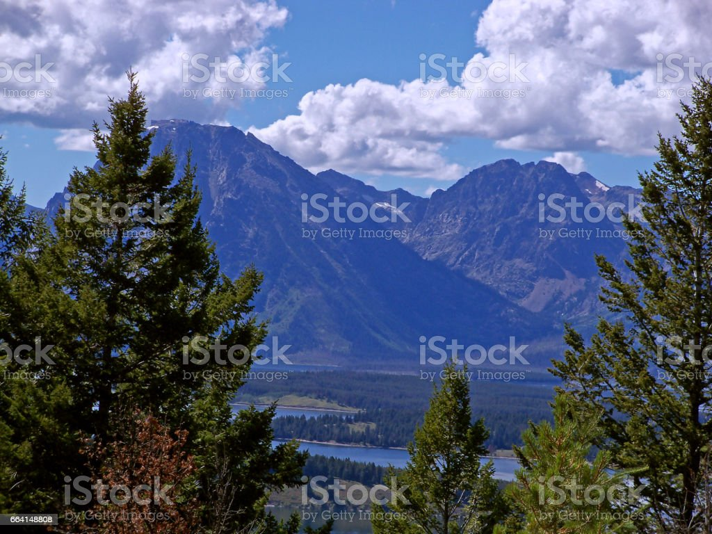Grand Teton National Park, Wyoming, USA foto stock royalty-free