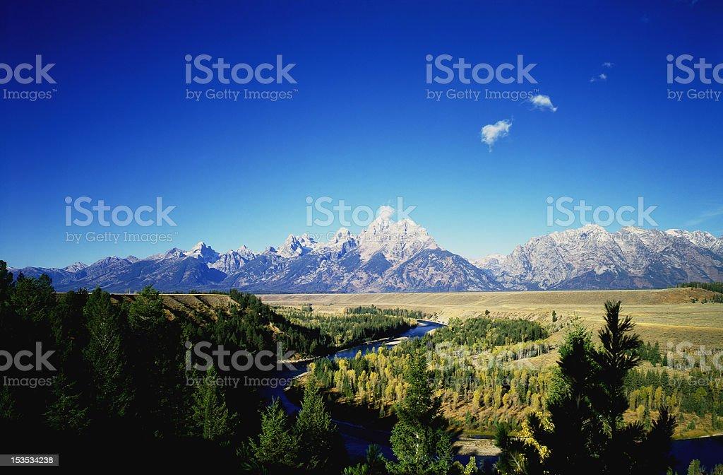 Grand Teton royalty-free stock photo