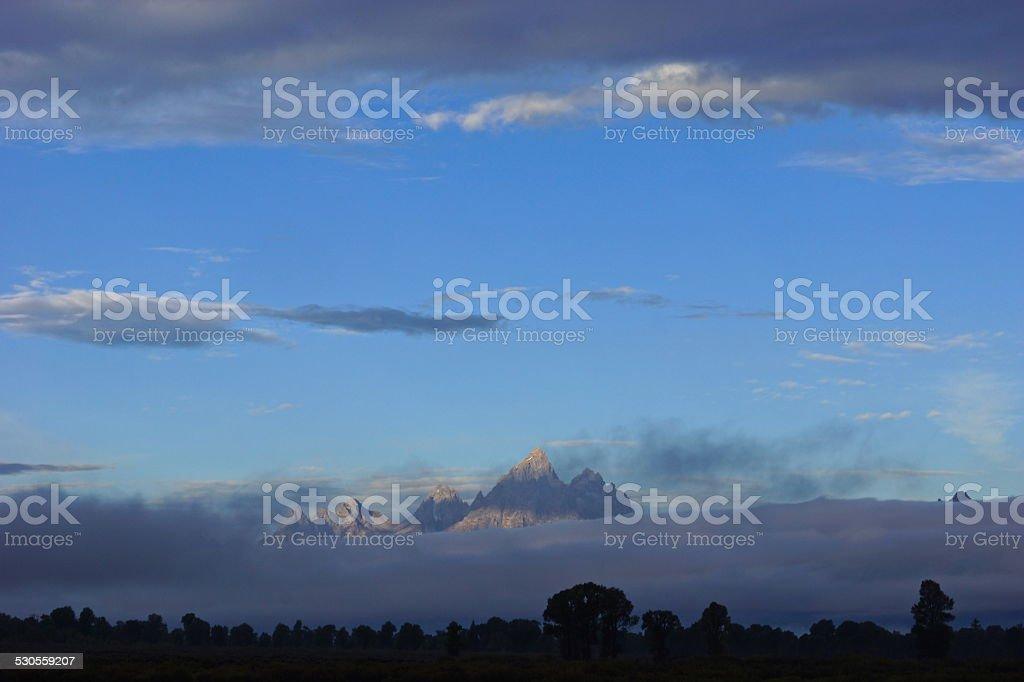 Grand Teton View stock photo