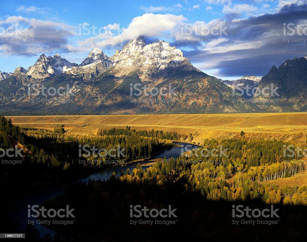 Grand Teton, Wyoming royalty-free stock photo