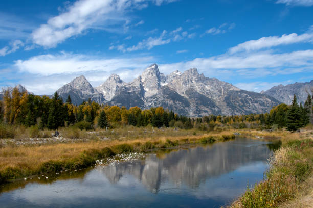 Grand Tetons and the Snake River – Foto