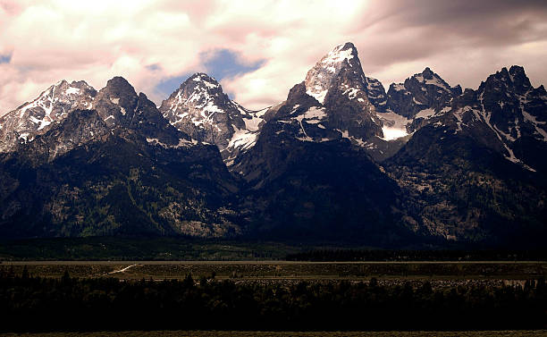 Grand Tetons National Park, Jackson Hole, Wyoming, USA stock photo