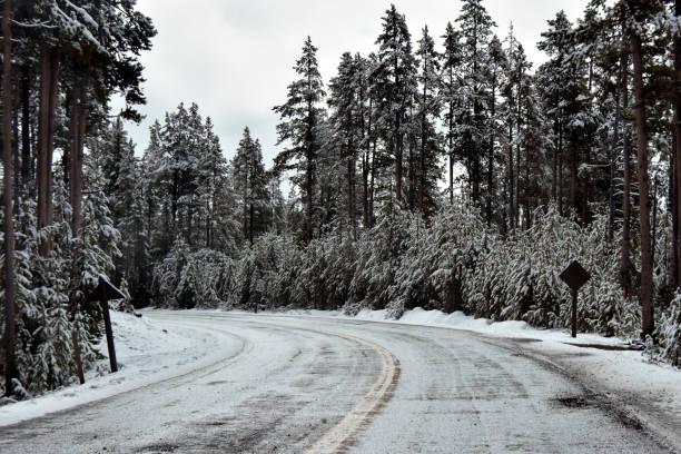 Grand Tetons Nationalpark mit Frühlingsschnee – Foto