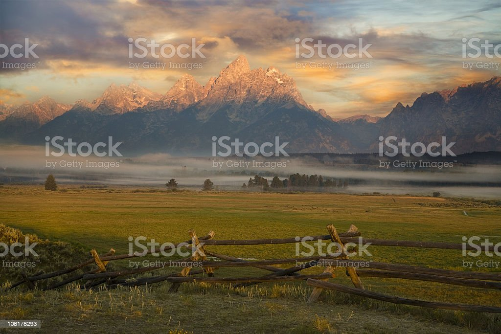 Grand Tetons Paradise stock photo