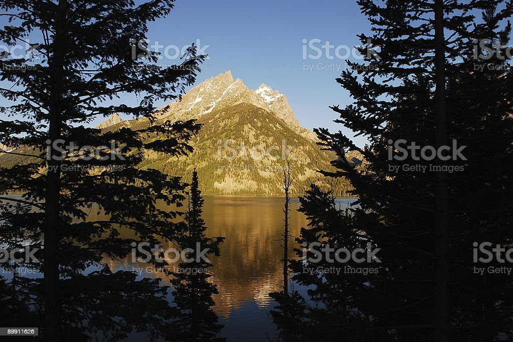 Grand Tetons royalty-free stock photo