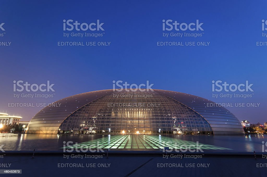 Grand Theater royalty-free stock photo