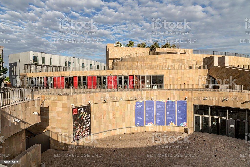 Grand Theatre de provence in Aix en Provence stock photo