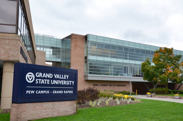 Grand Valley State University Grand Rapids campus stock photo