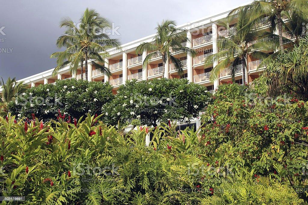 Grand Wailea Hotel and Resort - Maui, Hawaii stock photo