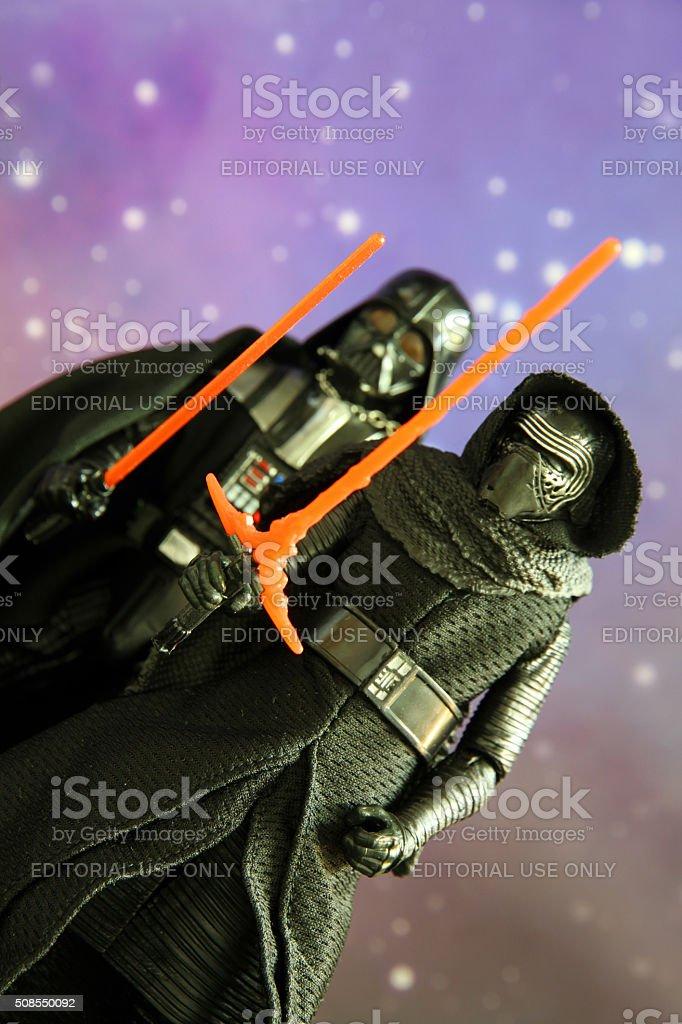 Grandchild of Vader stock photo