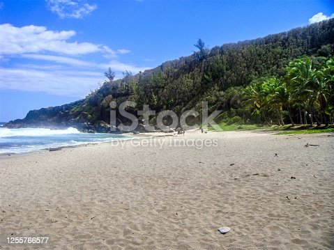 Grande Anse Beach, La Reunion Island.