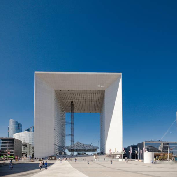 Grande Arche, la Défense, Paris, Frankreich – Foto