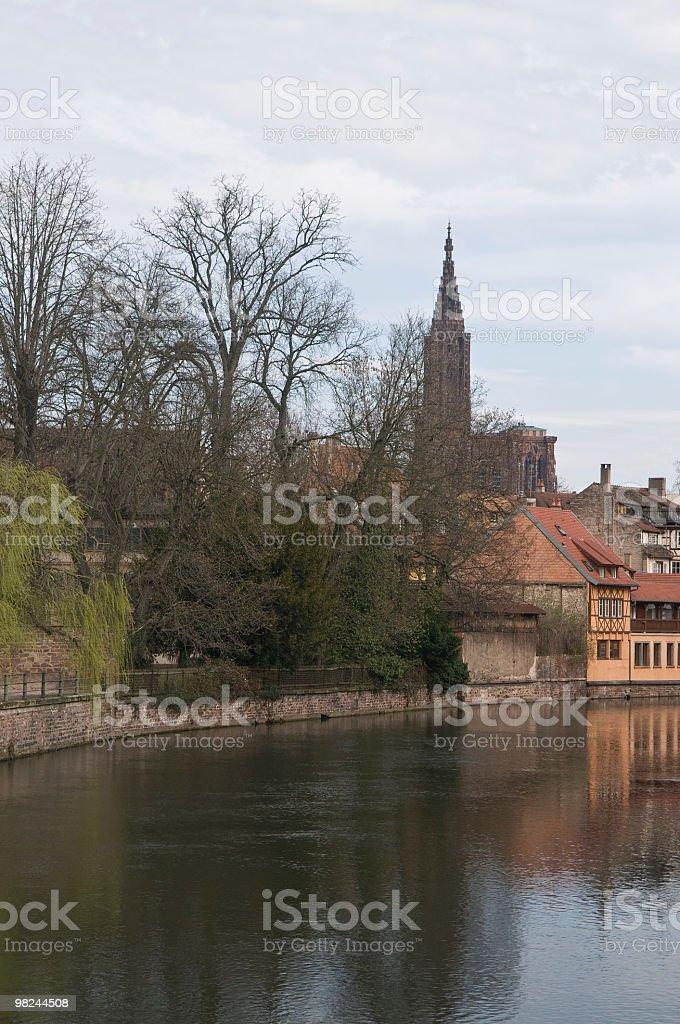 Grande Ile-Grand Island Strasbourg France royalty-free stock photo