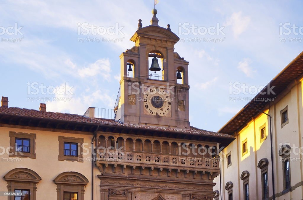 Grande square, Arezzo royalty-free stock photo