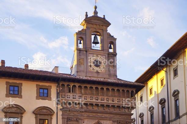 Foto de Grande Praça Arezzo e mais fotos de stock de Antiguidade
