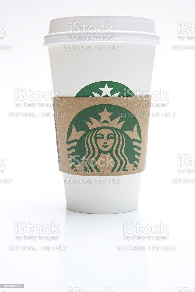 Grande Starbucks Coffee Cup royalty-free stock photo