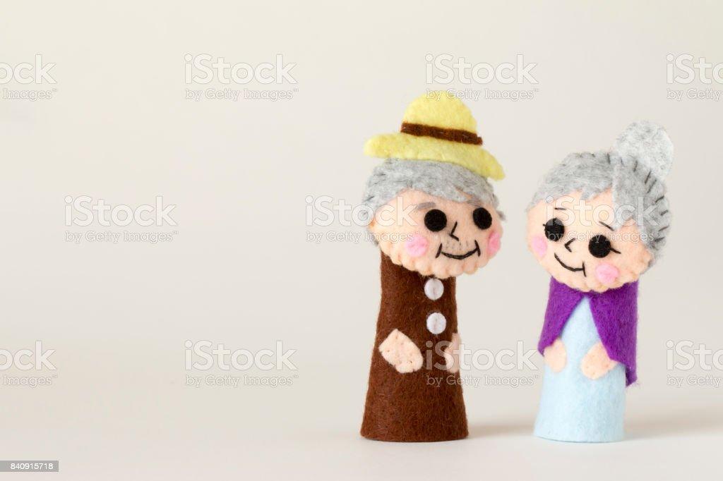 おじいちゃんと祖母 - 2人のロイヤリティフリーストックフォト