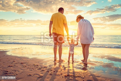 istock Grandfather and grandmother with grandson 579134854