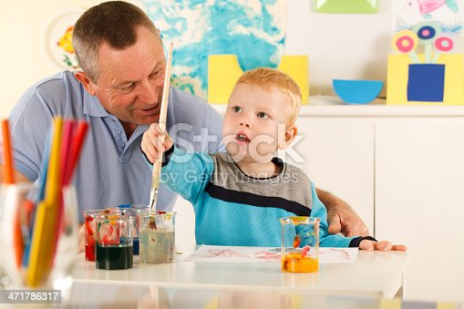 istock Grandfather and grandson 471786317