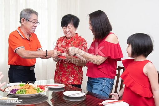 Chinese New Year, Family bonding and Togetherness Concepts