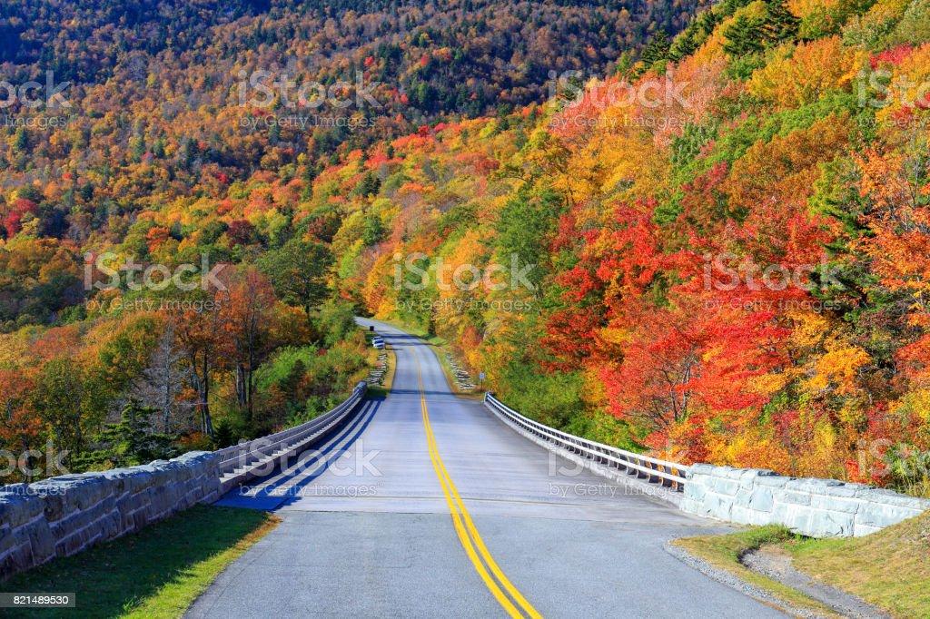 Grandfather Mountain, North Carolina stock photo
