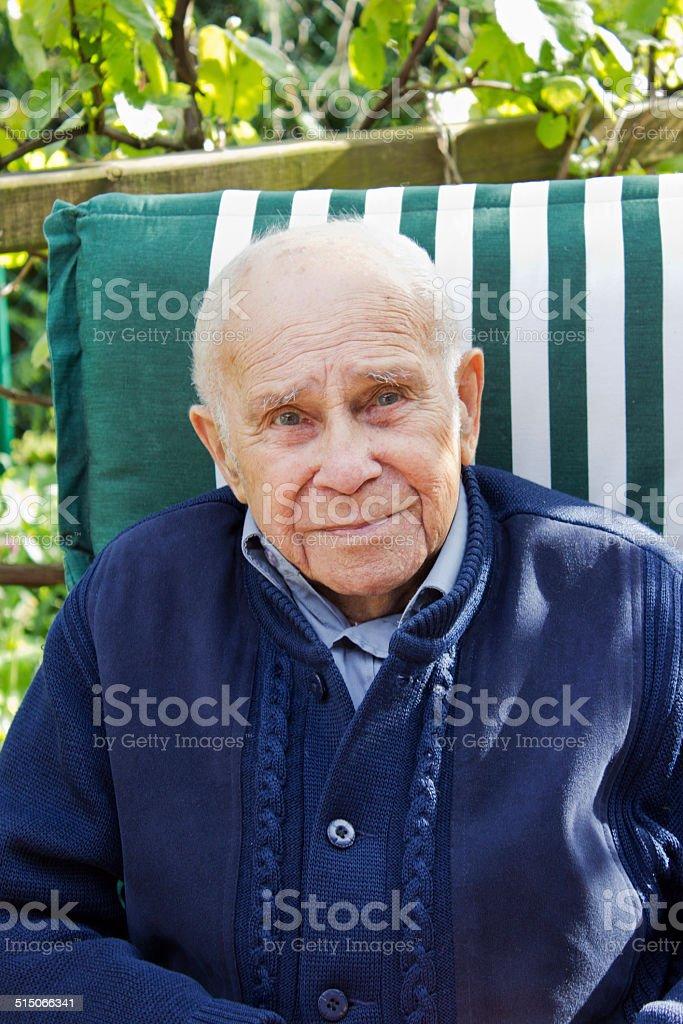 grandfather stock photo