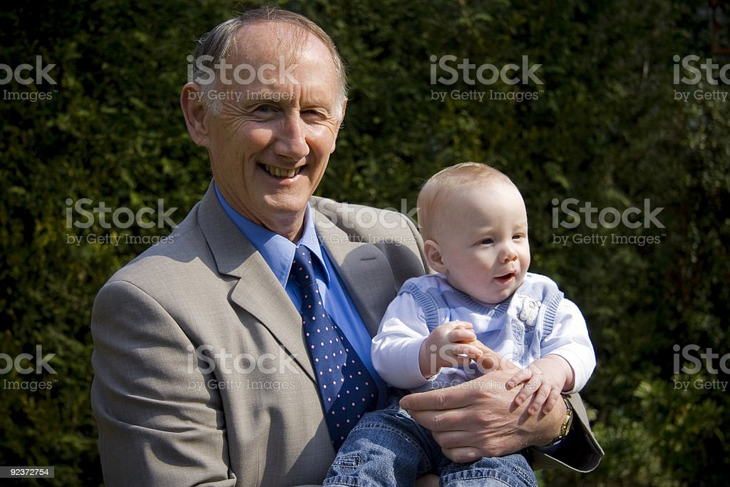 Grandfather royalty-free stock photo
