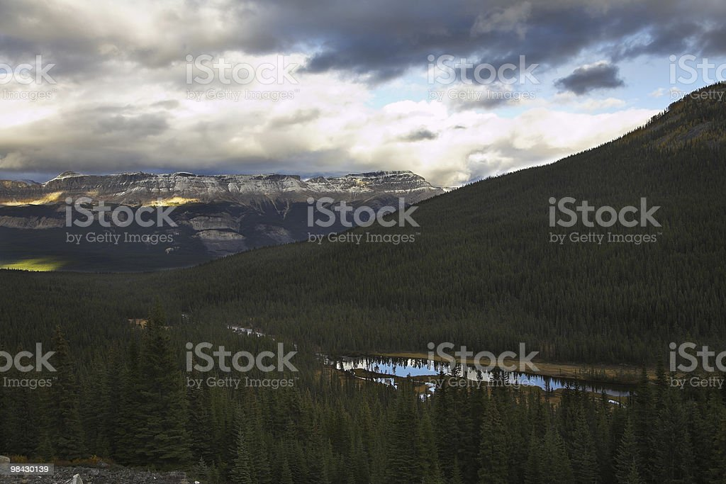 Grandiose mountain  landscape royalty-free stock photo