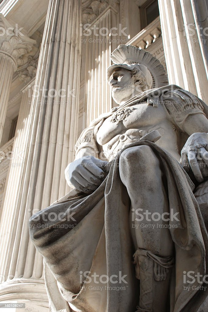 Grandiose Statue royalty-free stock photo