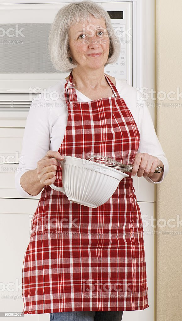 Grandma Knows How To Bake royalty-free stock photo
