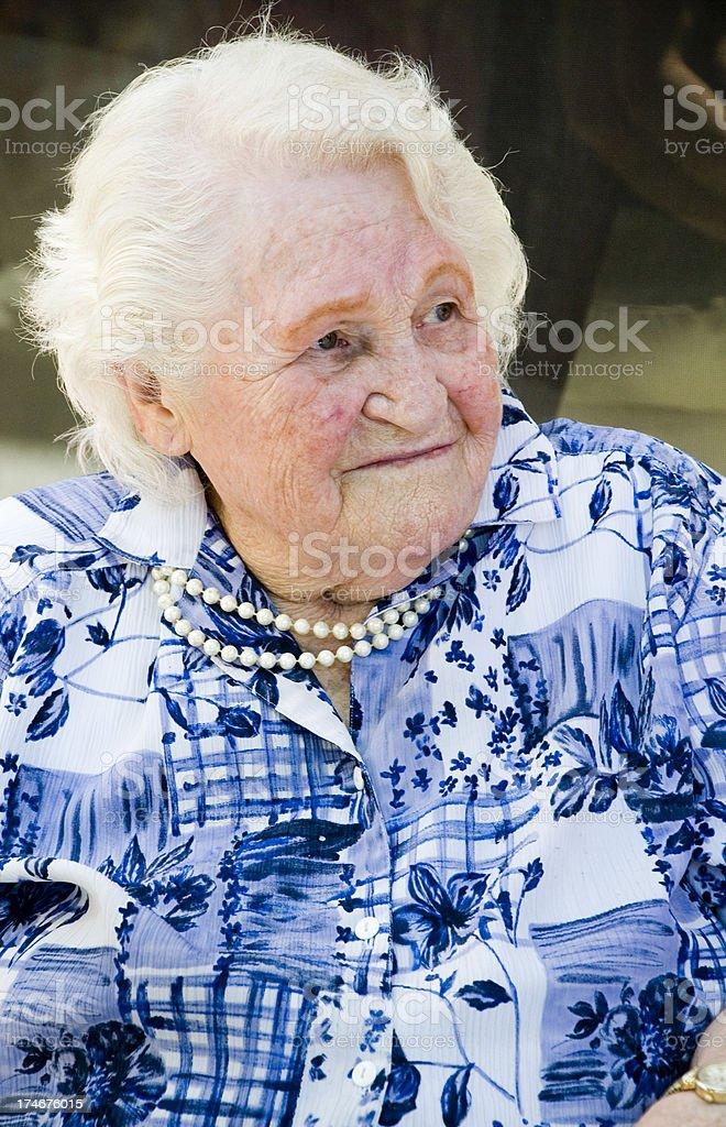 Grandma royalty-free stock photo