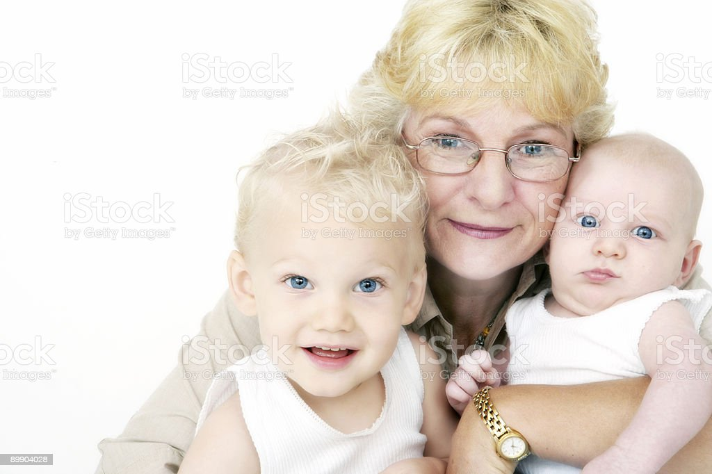Grandma royalty-free stock photo