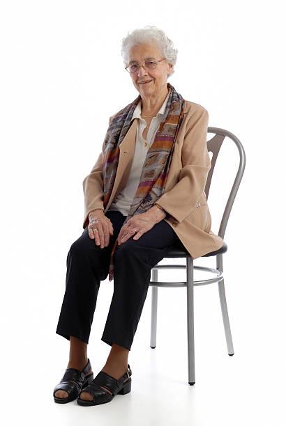 Oma Porträt – Foto