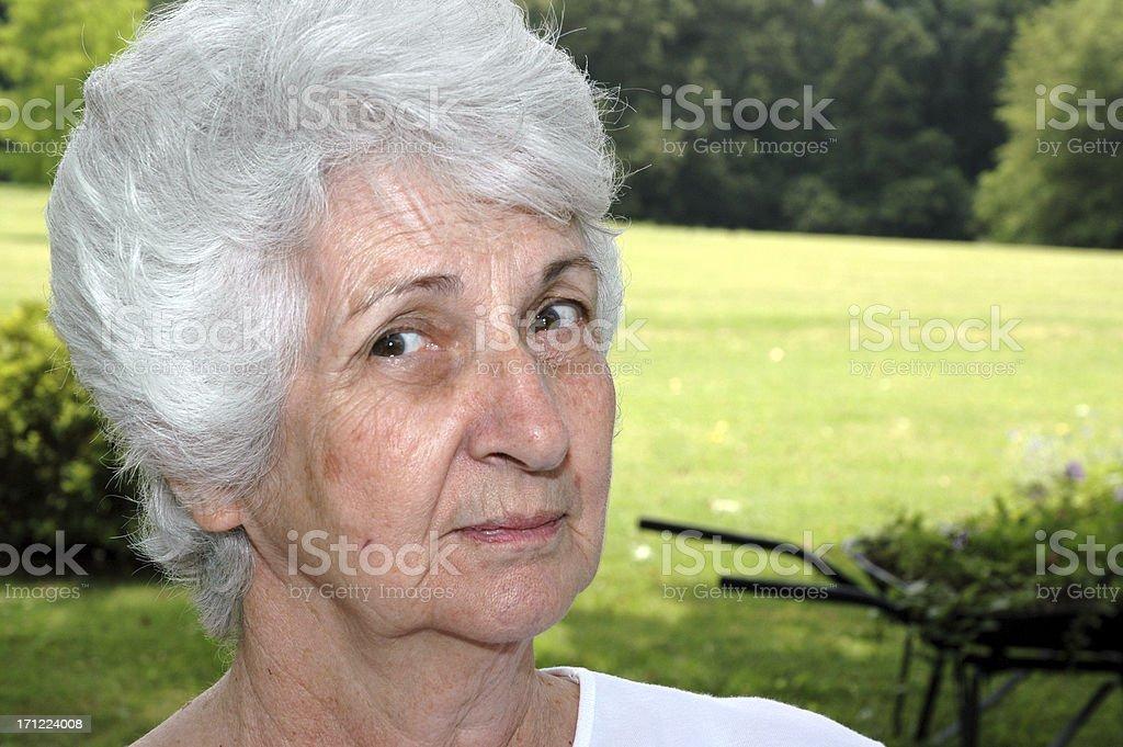 Grandma - Senior Citizen royalty-free stock photo