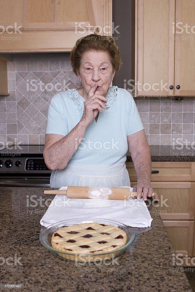 Grandma's Secret Recipe royalty-free stock photo