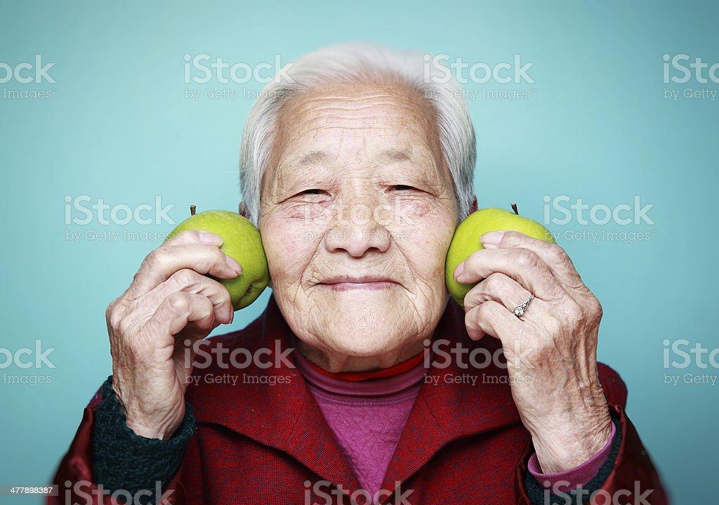 Grandmother stock photo