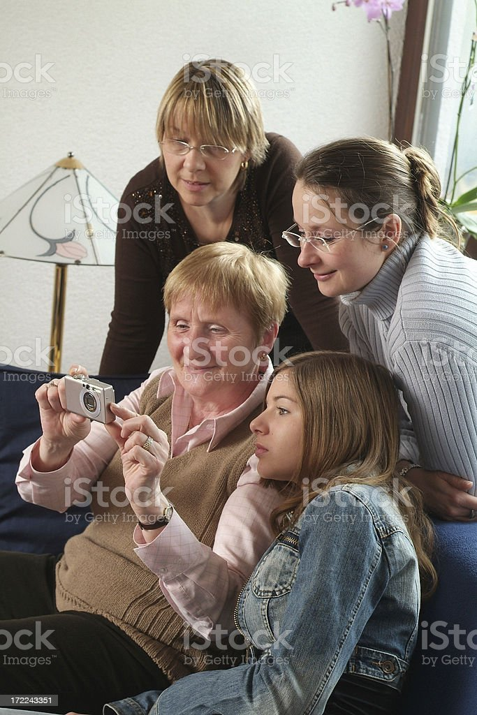 Grandmother Series royalty-free stock photo