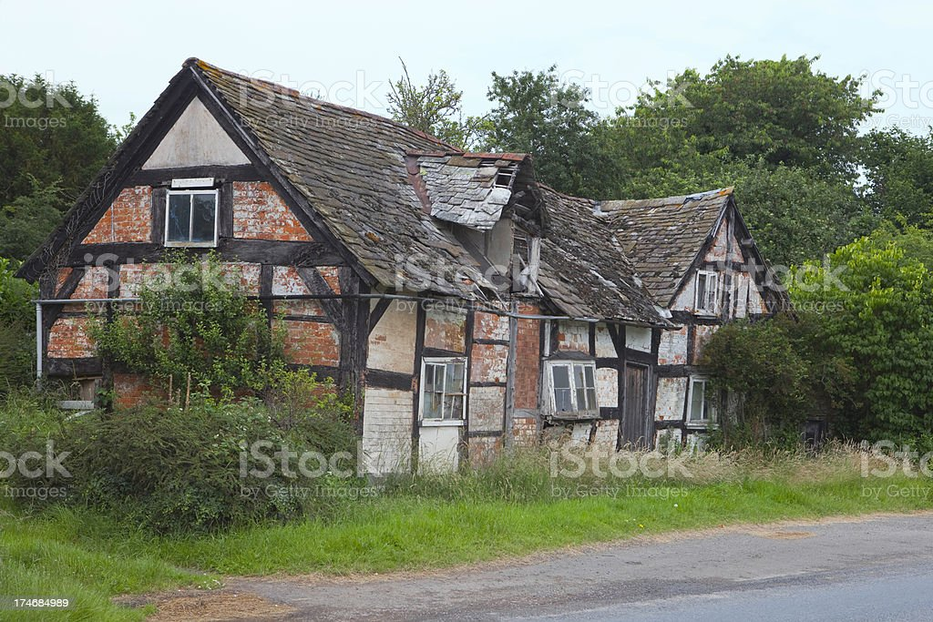 Grandmothers Cottage royalty-free stock photo