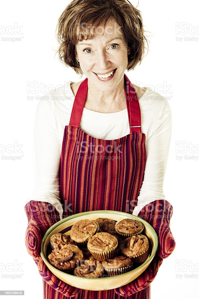 Grandmother's Muffins royalty-free stock photo
