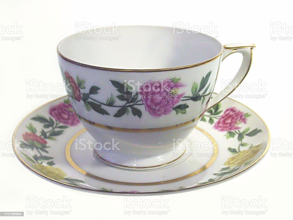 Grandmothers Teacup royalty-free stock photo