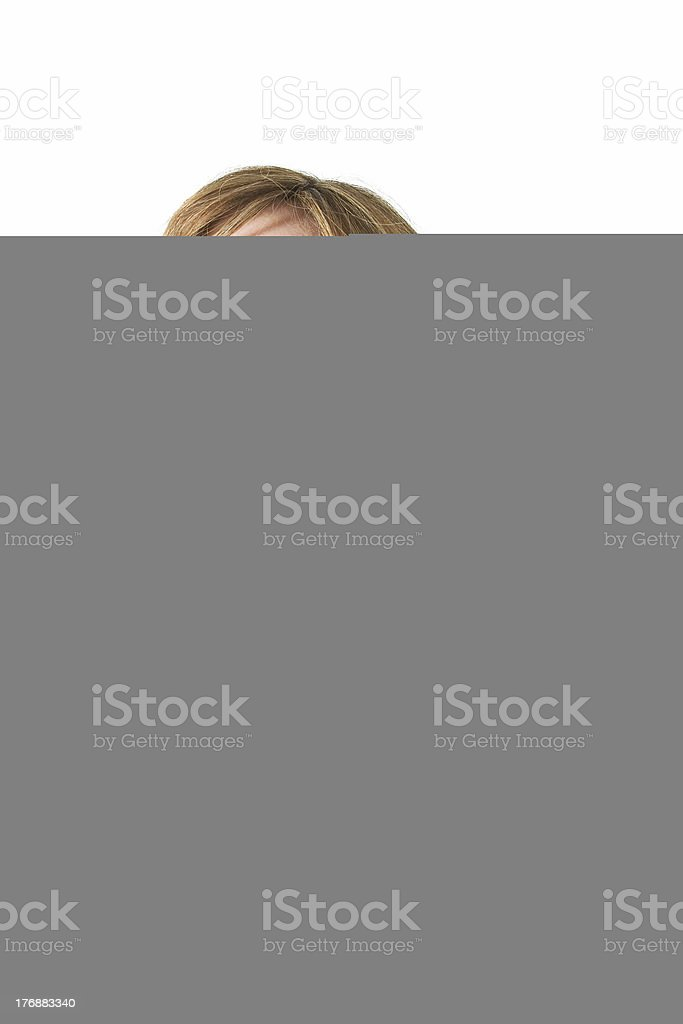 Grandparents In Park With Granddaughter royalty-free stock photo